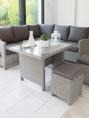 Rattan Dining Set - Garden Furniture